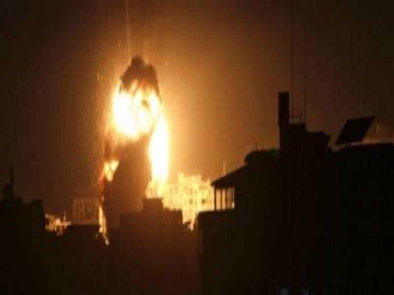 غارات جوية للاحتلال تشن هجومها على قطاع غزة