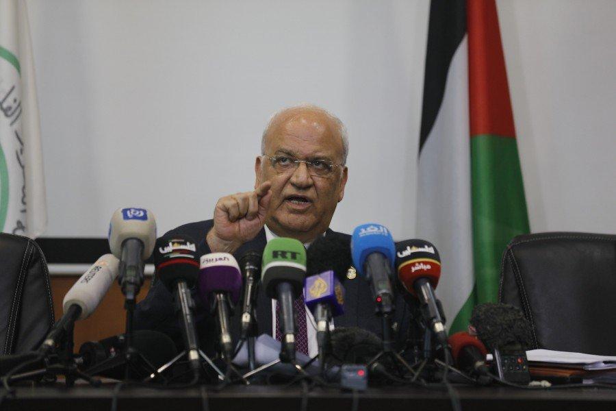 عريقات: فلسطين لن تنسحب من الجامعة العربية